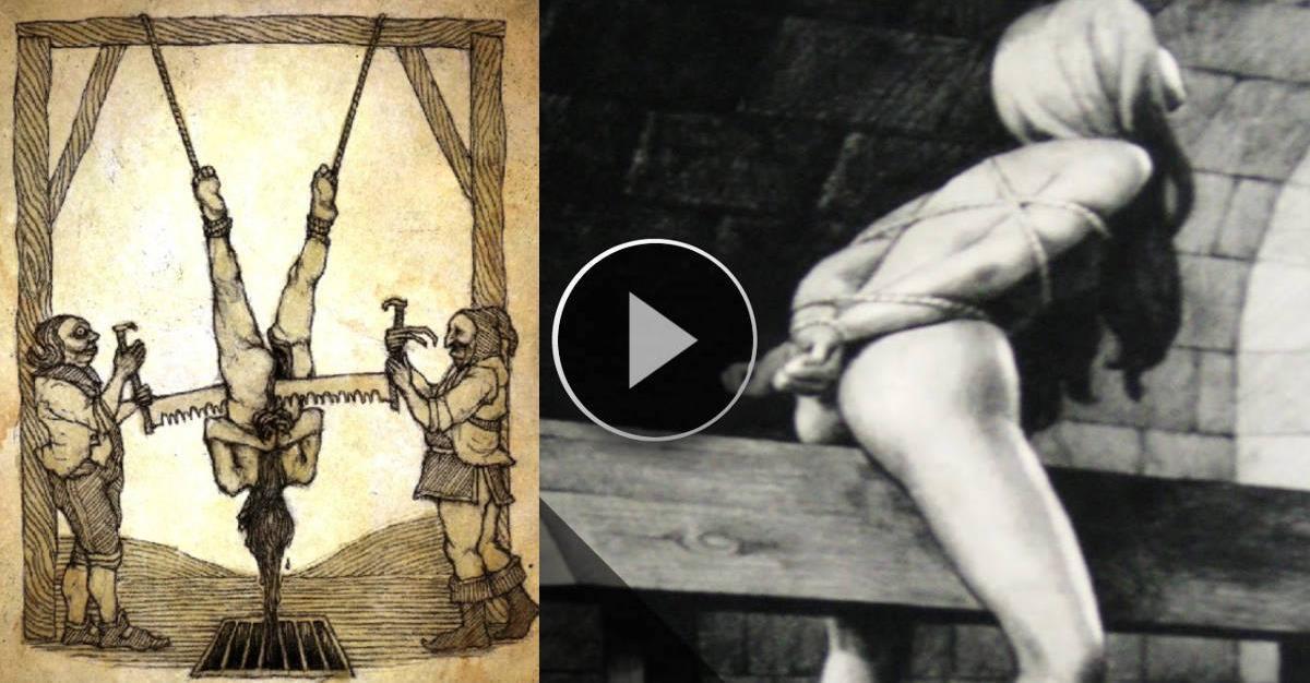 Le 15 torture medievali più brutali, la numero 10 E' Davvero TERRIBILE... Da RABBRIVIDIRE!