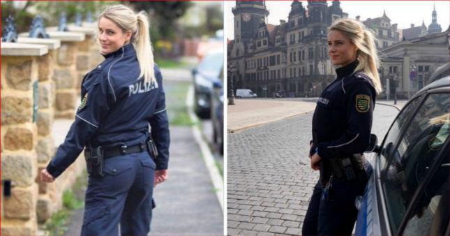 La Poliziotta da 100mila Fan su Instagram. Il Motivo? Guardatela Senza la Divisa... FOTO!