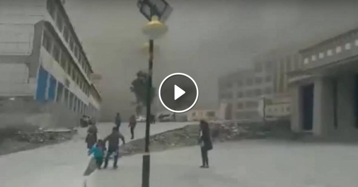 Il Terremoto più Potente e Mostruoso della storia ripreso in Diretta. Lo scenario è Apocalittico!
