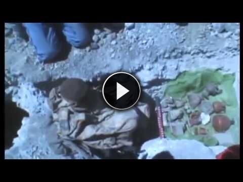 La bambina congelata ritrovata dopo 500 anni sembra viva! Storia incredibile!! (VIDEO)