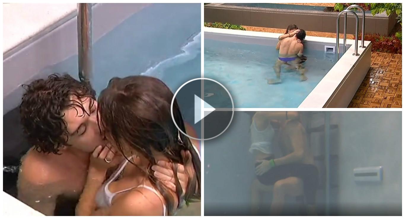 Scandalo al Grande Fratello: scena di sesso in piscina!!
