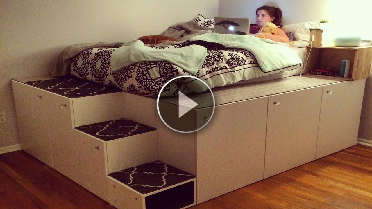 Guardate cosa ha realizzato questo padre con soli 7 scaffali IKEA, resterete senza parole!