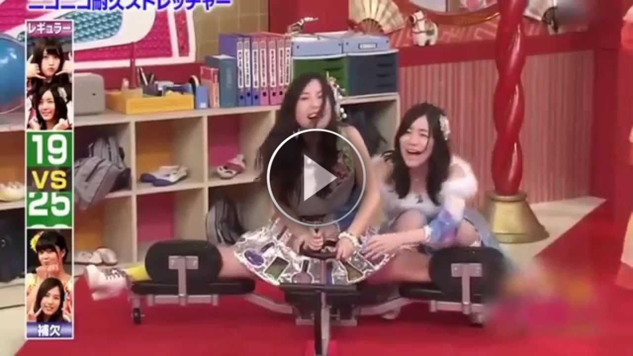 Uno strano game show con ragazze giapponesi... quello che fanno è pazzesco!