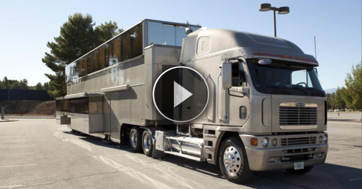 Ecco il camper di Will Smith, il più lussuoso e costoso del mondo!!