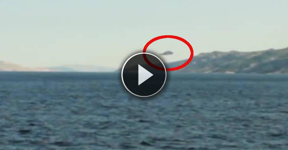 L'avvistamento di un UFO sul Mar Adriatico: verità o fake?? Ecco le immagini incredibili!!