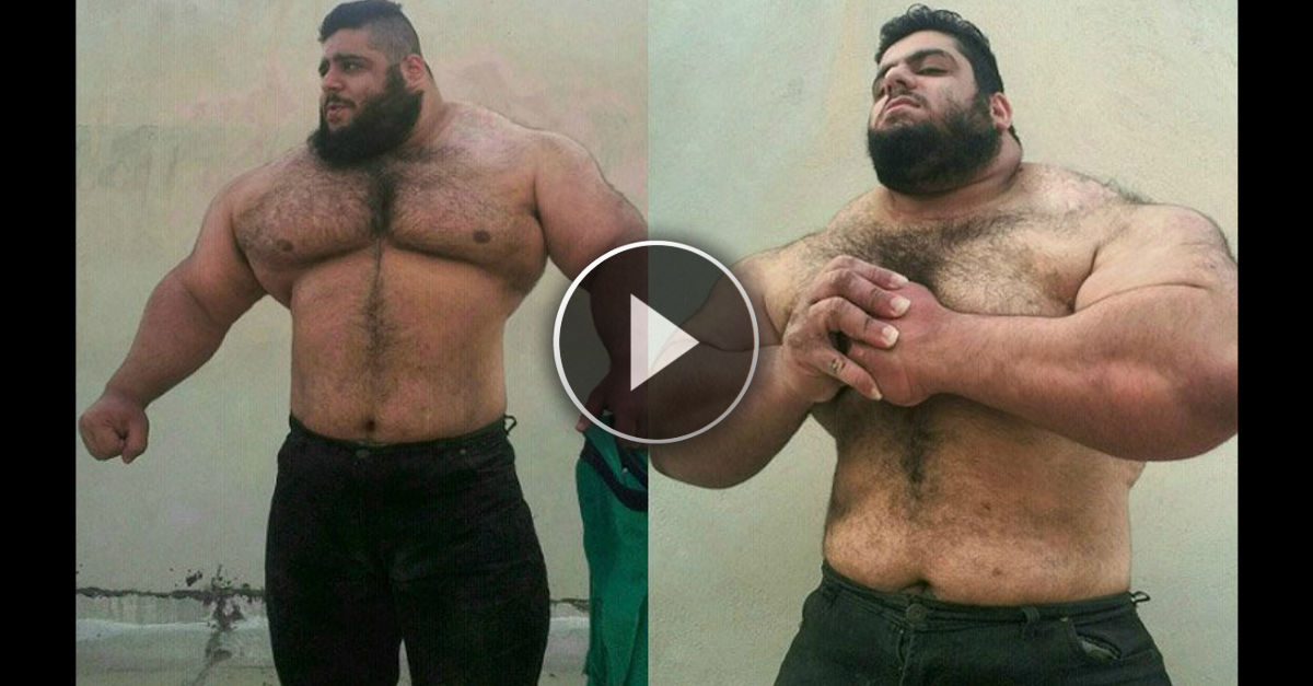 L'incredibile Hulk esiste e vive in Iran – GUARDA IL VIDEO
