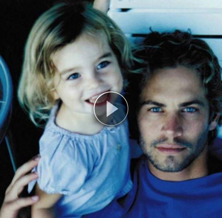 Sono passati 3 anni dalla morte di suo padre. Ecco cosa è accaduto oggi alla figlia di Paul Walker: