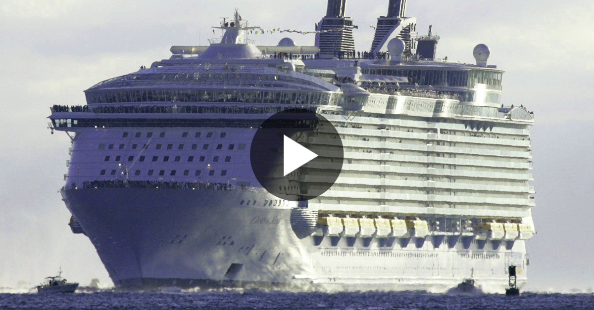 La NAVE Da Crociera Più Grande del Mondo: 5 Volte Più Grande del TITANIC