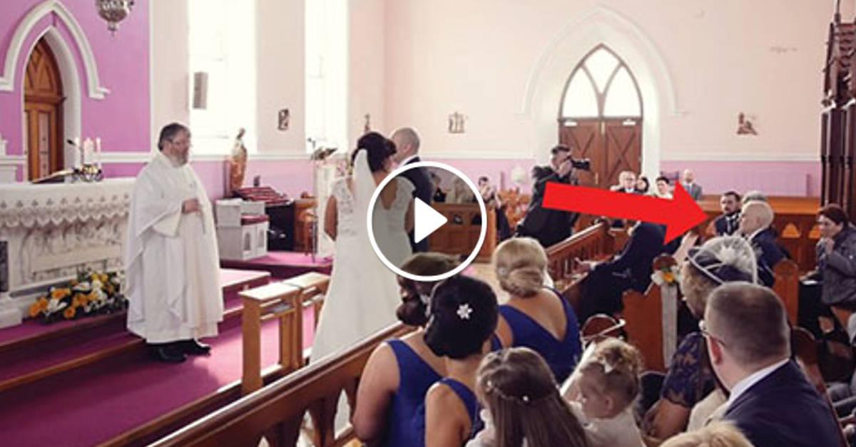 """La Cerimonia Viene """"Interrotta"""" da Una Voce Sul Fondo della Sala: Poco Dopo la Sposa è in Lacrime…"""