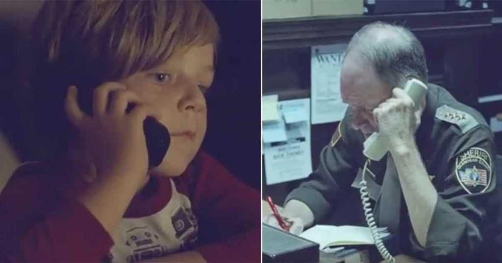 Bambino chiama la polizia perché cerca la mamma in cielo... la sua telefonata ha fatto commuovere tutti!!!