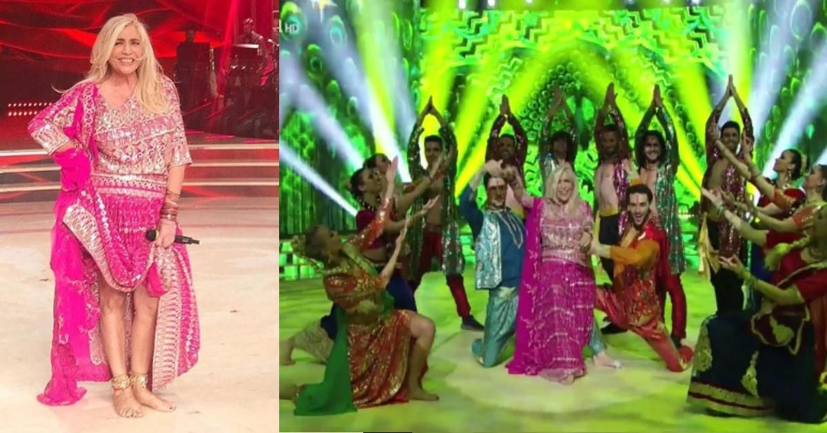 Zia Mara acclamata da giudici e social network balla in stile Bollywood e convince tutti. VIDEO